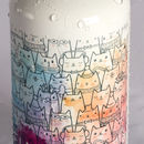 printed water bottles with carabiner clip