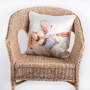 silk pillow made and printed for chair decoration and comfort