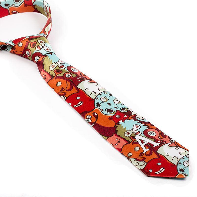krawatte bedrucken mit deinem design 2 jahre garantie. Black Bedroom Furniture Sets. Home Design Ideas