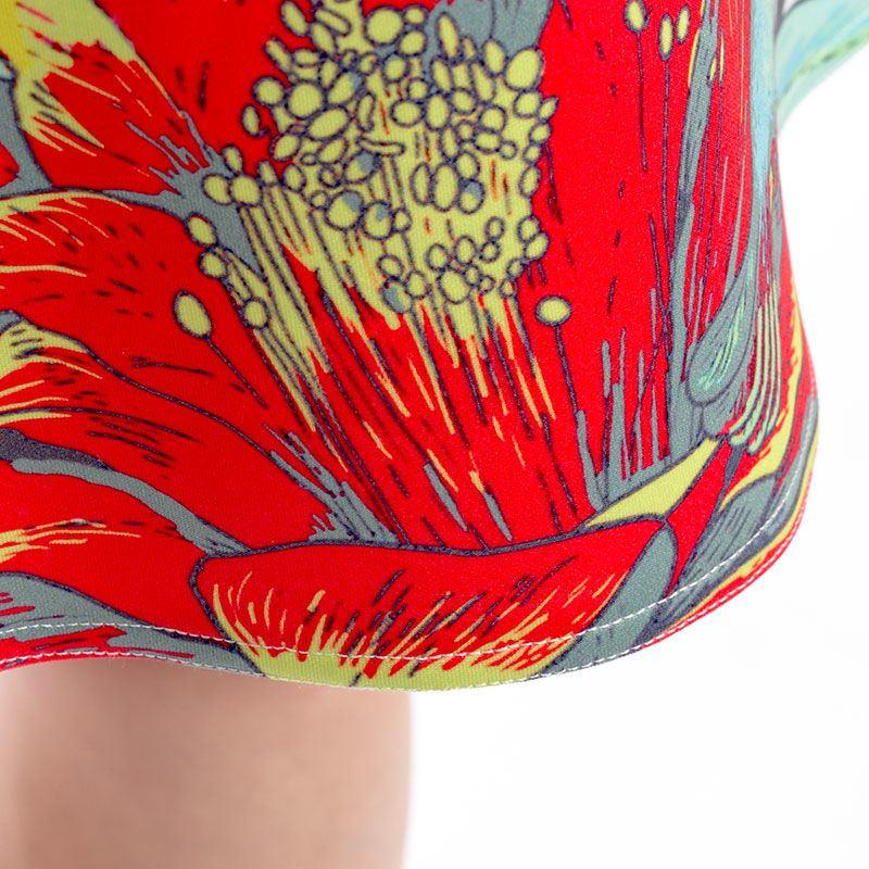 Personalised Vest Dress Stitching closeup