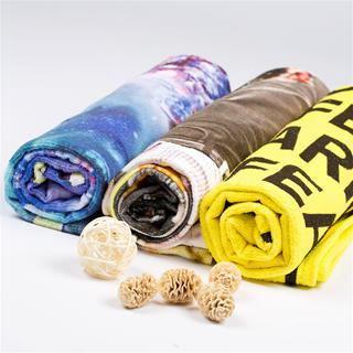 serviettes de plage personnalisées
