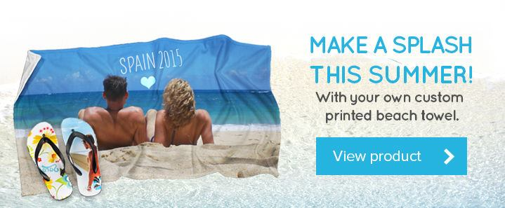 personalized beach towels from Bags of Love
