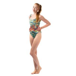 floral design your own swimming costume