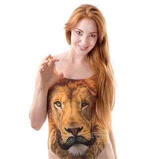 costume da mare foto leone