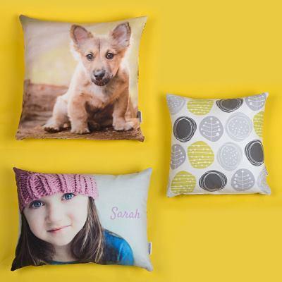 Cuscini decorativi personalizzati con foto