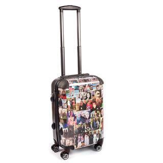 koffer selbst gestalten mit Fotocollage