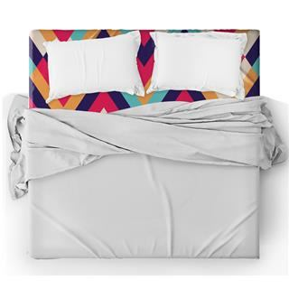 personalised patterned bed sheet