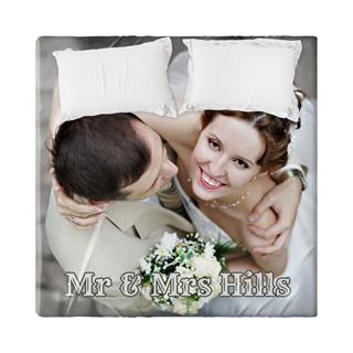 foto hoeslaken huwelijk