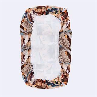 collage foto su lenzuola con angoli