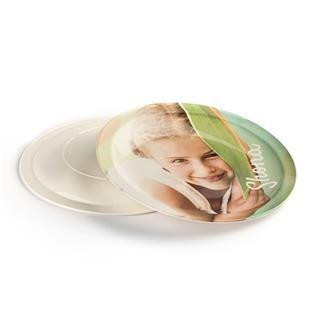 piatto di plastica personalizzato