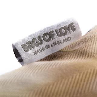 luxury photo cushion label detail