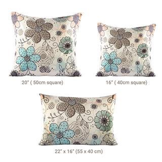 Luxe cushions sizing chart