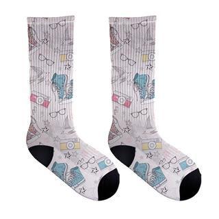 sokken afbeelding print