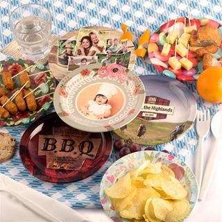 plastic picnic set customised