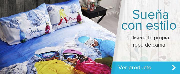 Funda nórdica con fotos y almohadas personalizadas con Foto Regalos Originales