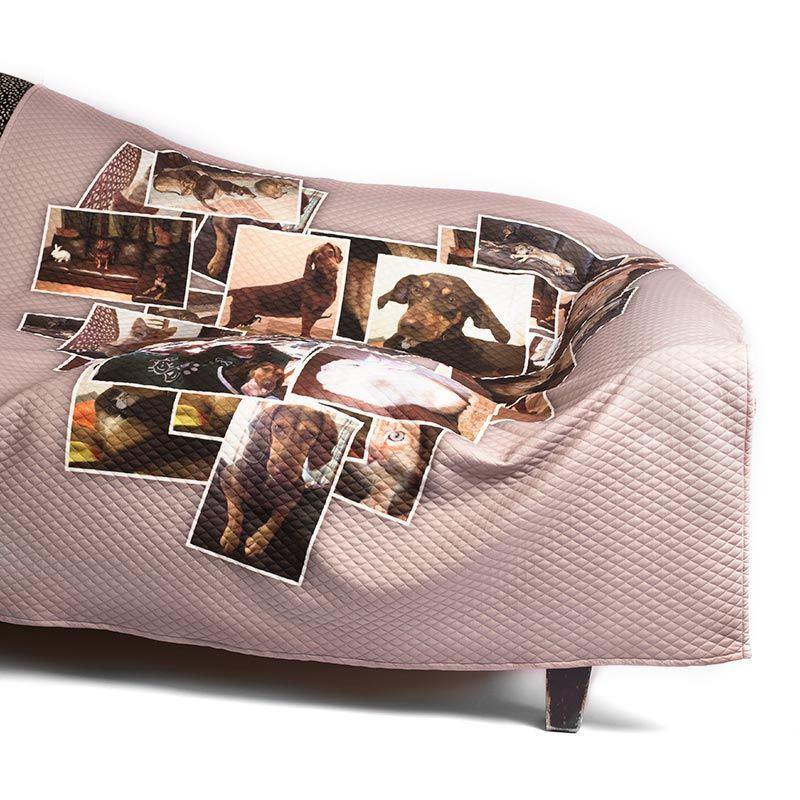 berwurfdecken mit fotos bedrucken lassen. Black Bedroom Furniture Sets. Home Design Ideas