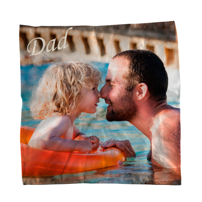 personalised handkerchief printed with your design