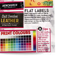 color print label sample pack