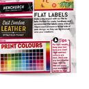 colour print labelsample pack