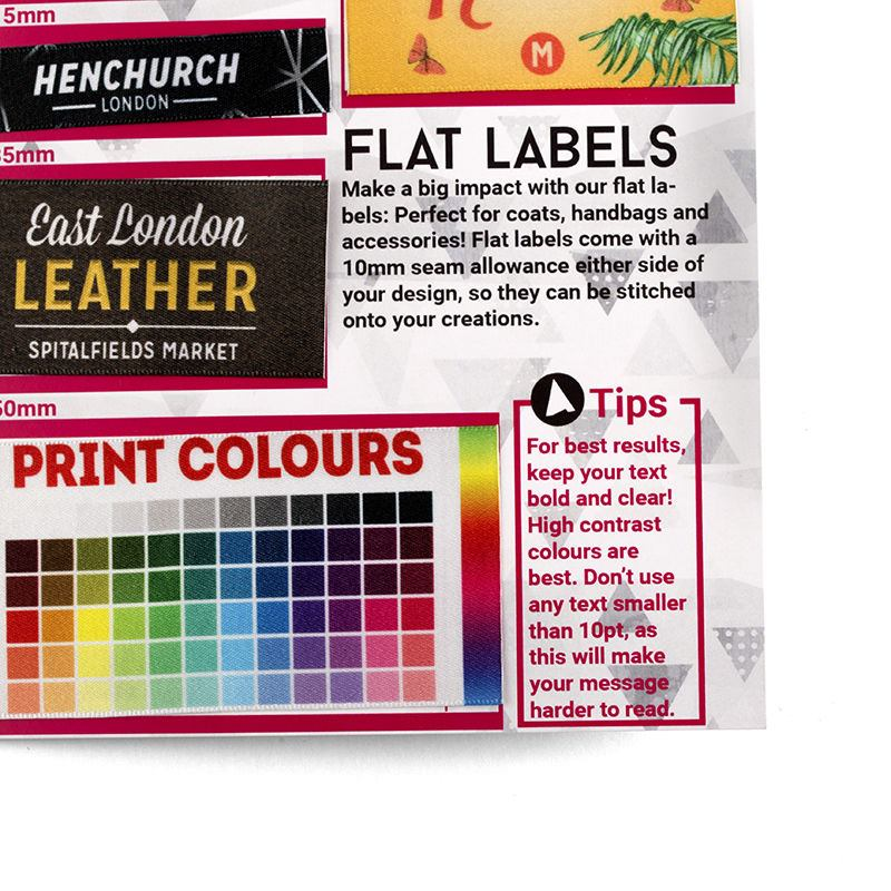 Fabric Label Sample Pack Us See All Fabric Labels To Print On