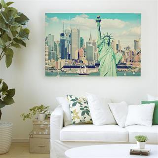 stampa su tela new york