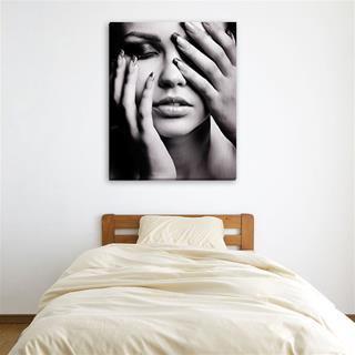 tableau photo personnalisé noir et blanc