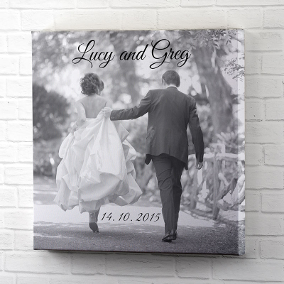 Black & White Wedding Wall Art