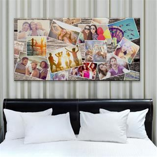 personalise photo montage canvas