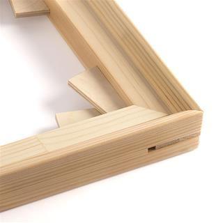 marco madera fotolienzo