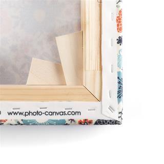 canvas personalizzati cornice in legno