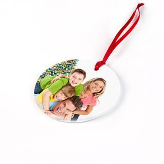 heart shaped photo christmas ornaments