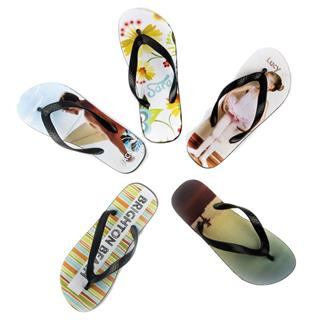printed flips flops for family