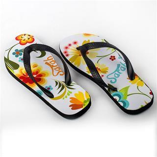 summer custom flip flops