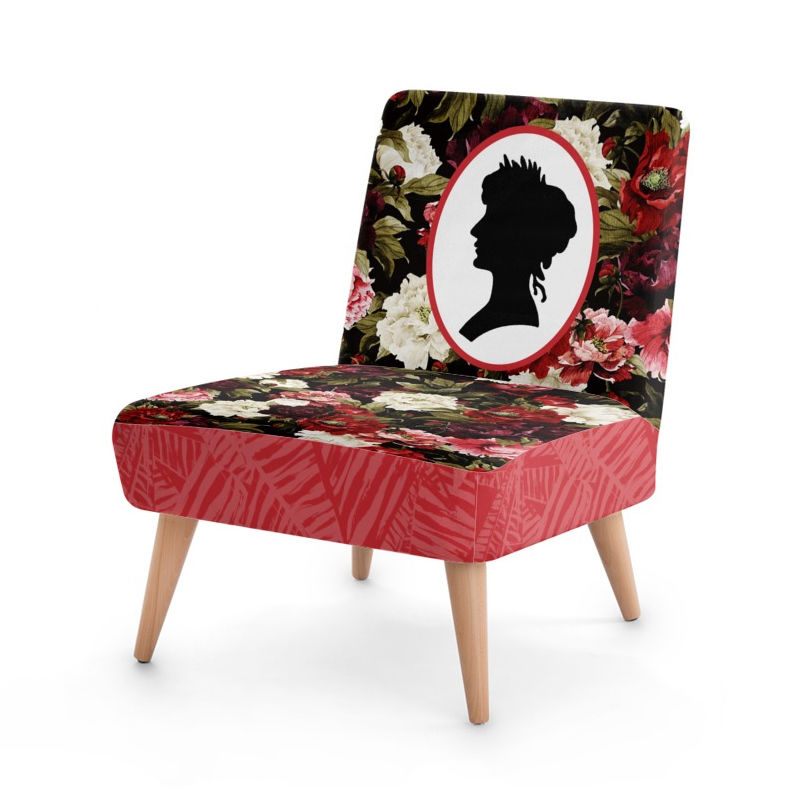 High Quality Occasional Chairs Purple Leaves; Design Your Own Chair ...