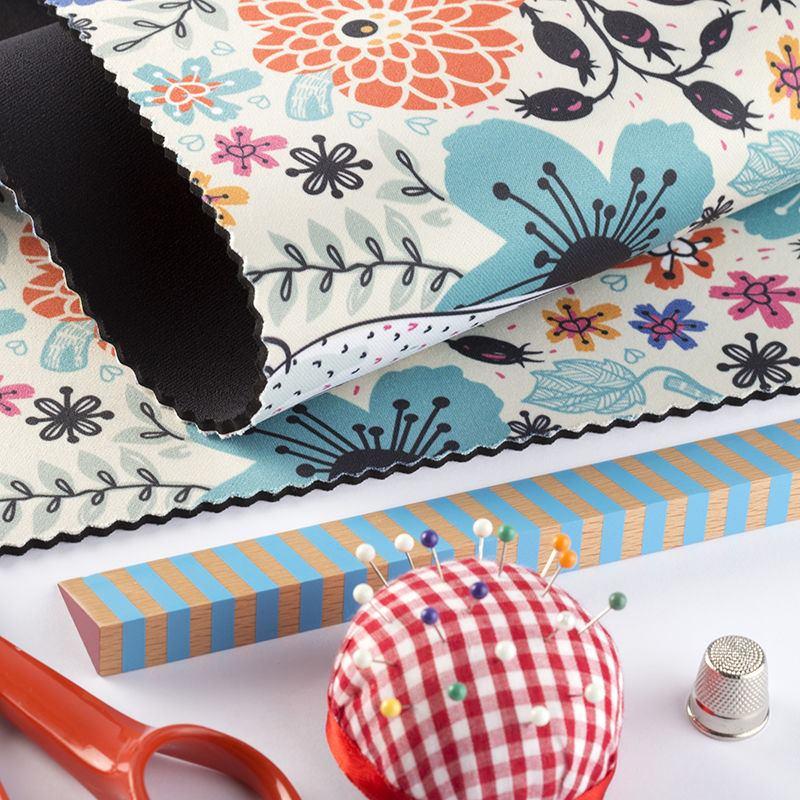 tissu n opr ne personnalisable impression sur n opr ne. Black Bedroom Furniture Sets. Home Design Ideas