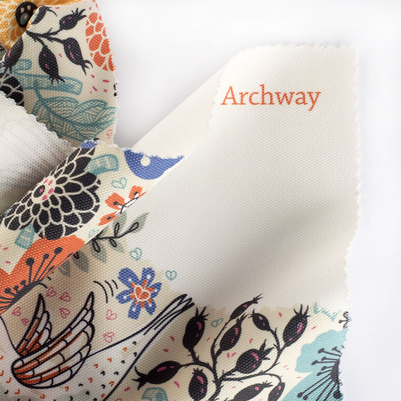 Archway brushed twill.