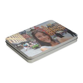 custom photo tin