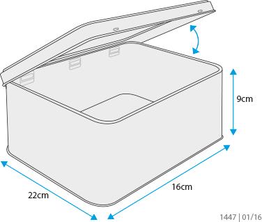 dimensiones caja para galletas decoradas