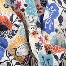 custom Cashmere fabric printing folded