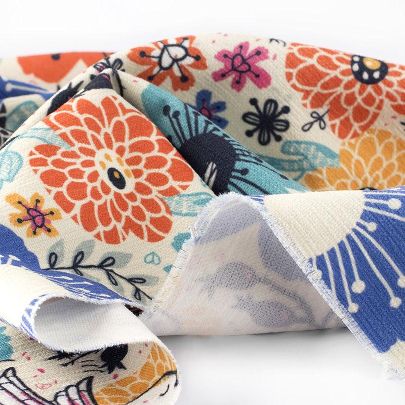 Impresi n en tela chenille telas de chenilla para tapizar - Telas chenille para tapizar ...