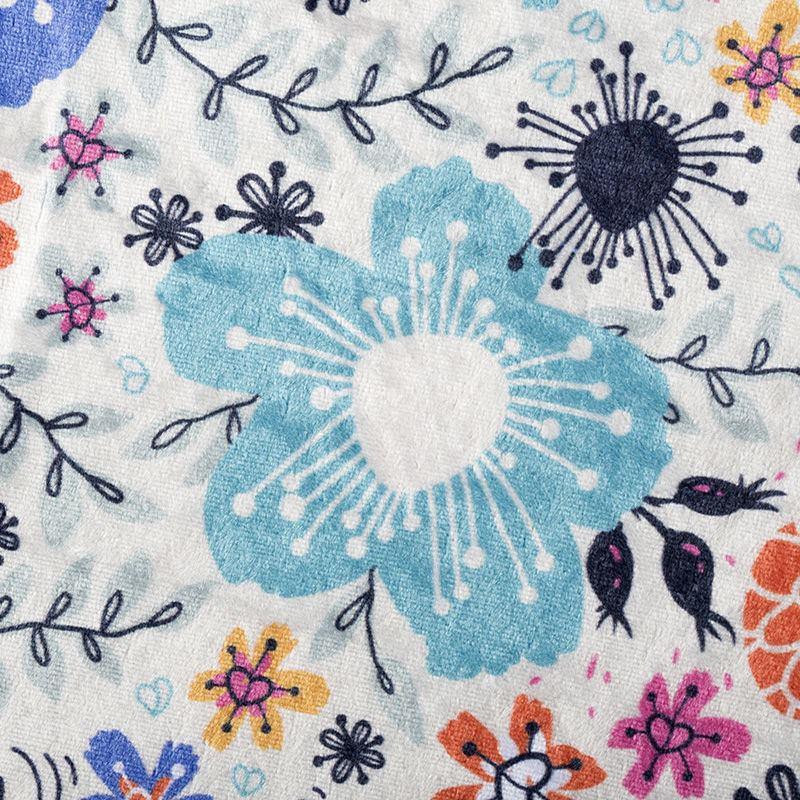 Crush Velour Fabric printing pattern