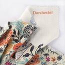 Print Dorchester linen fabric