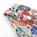 custom printed Crepe de France fabric
