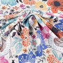 Printing on Crepe de France Fabric