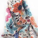 custom made Crepe de France fabric