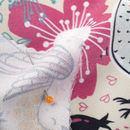 custom Crepe de France fabric printing