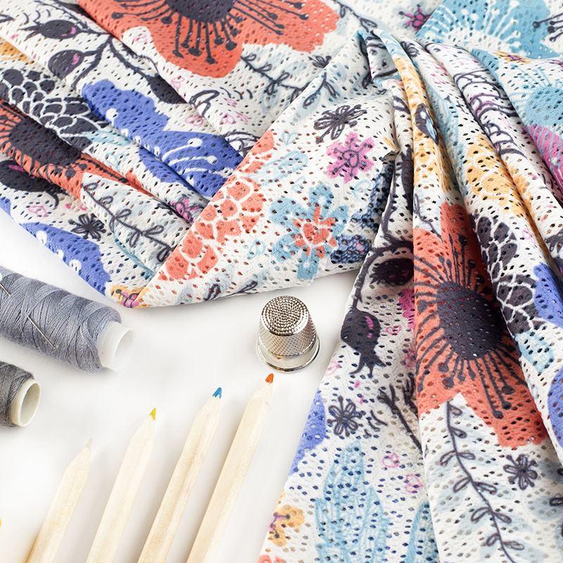 Impresión Textil en Encaje Crochet | Diseña Telas de Encaje