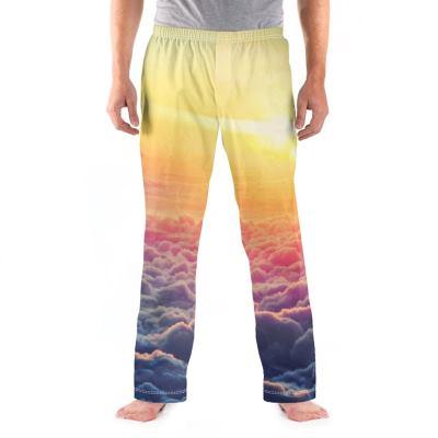 gepersonaliseerde heren pyjama broek