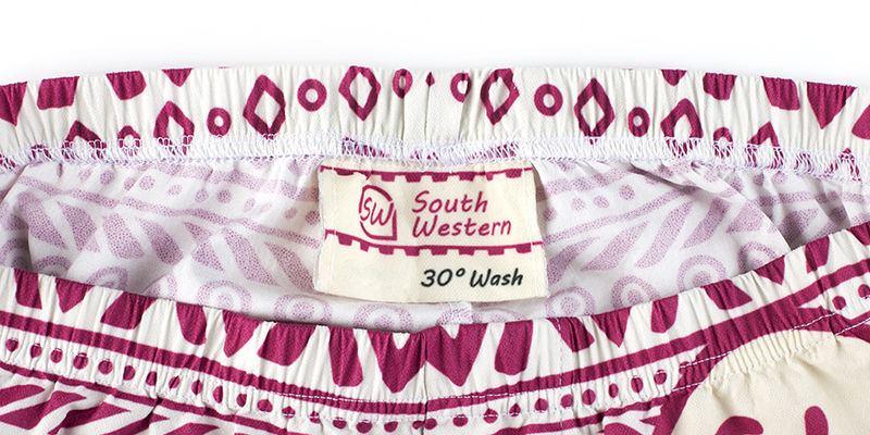 Men's Pyjamas Label Detail