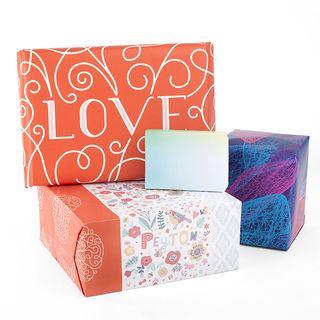 carta da pacchi personalizzata